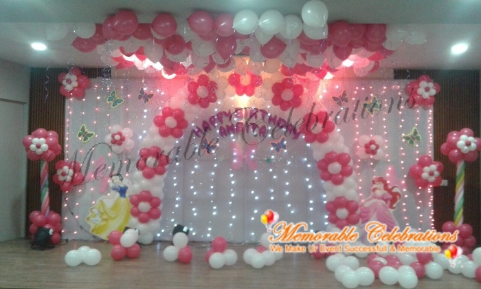 Birthday Party Cradle Saree Ceremony Decorations In Hyderabad 29